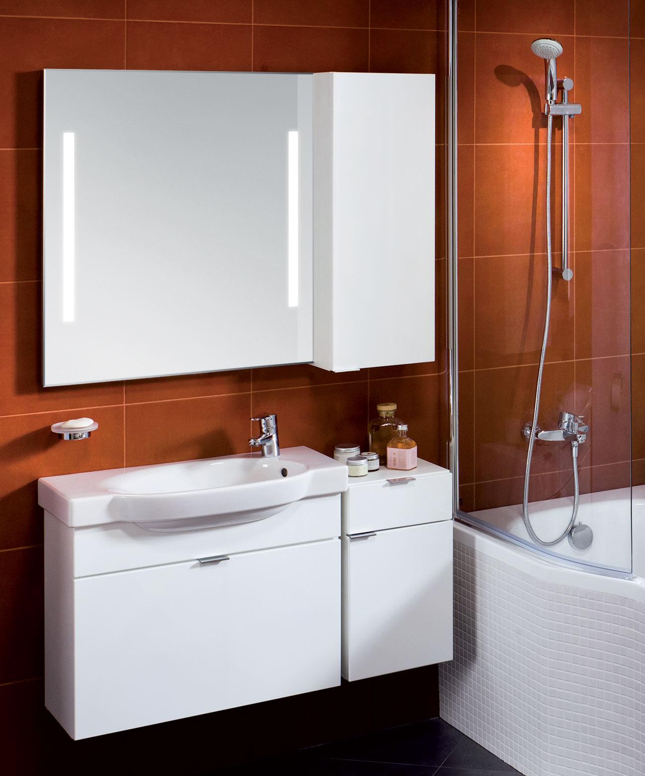 Bathroom mirrors and illumination | Jika