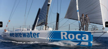 The We Are Water Foundation will again participate in the Barcelona World Race